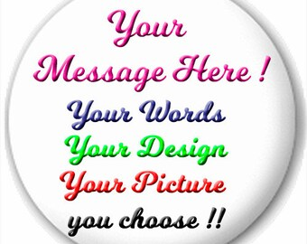 Customized  2.25  Pocket Mirror . Personalized, your photo, your design
