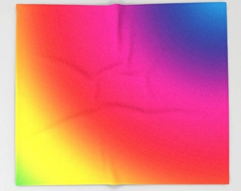 Rainbow Blanket, Rainbow Bedding, Rainbow Throw Blanket, Rainbow Fleece Blanket, Rainbow Baby Blanket