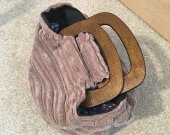 Teddybear-soft handbag