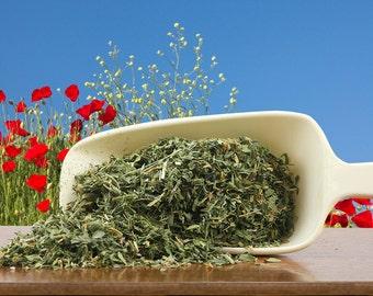 Organic Alfalfa Leaf, Herb, Herb Tea, Culinary Supply, Food Craft Supply, 1 oz