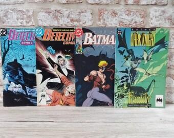 2 batman x BD juin 1992 Detective Comics novembre septembre 1988