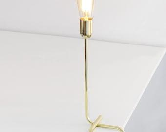 Modern Brass Lamp Etsy