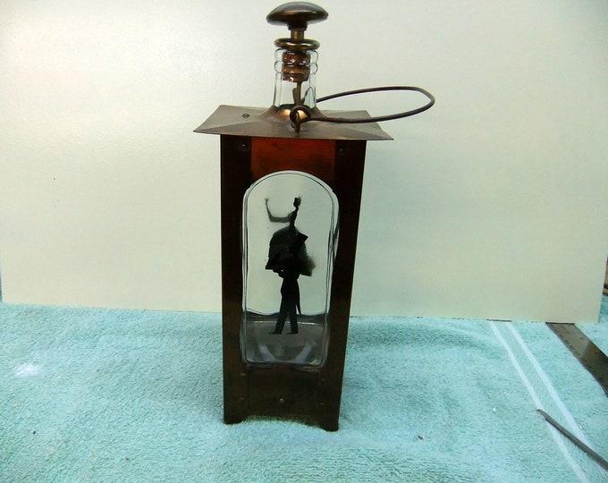 Featured listing image: Vintage Liquor Decanter - Music Box - Vintage Gentleman & Lady Silhouette