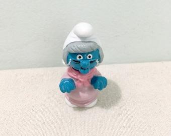 Vintage Grandma Smurf