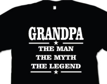 Poppy the man the myth the legend mens t shirt grandpa grandpa the man the myth the legend mens t shirt grandpa birthday fathers day gift grandfather grandad publicscrutiny Gallery