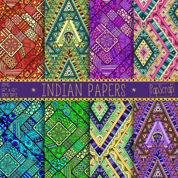 Indian Digital Paper Indian Papers Oriental