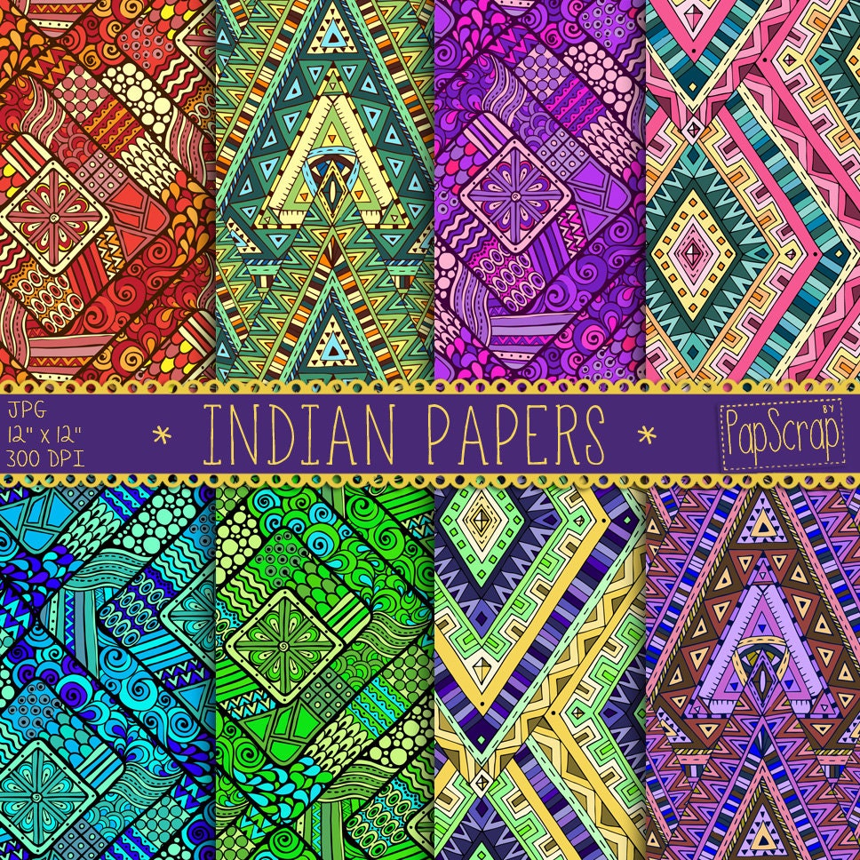 Indian digital paper indian papers oriental zoom jeuxipadfo Image collections