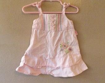 Carter's Pink Sundress 6/9 Months