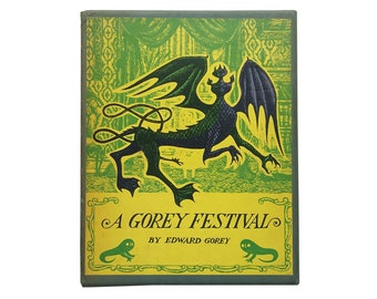 A Gorey Festival: The Curious Sofa, The Fatal Lozenge, The Hapless Child, and The Sinking Spell by Edward Gorey [1968] - First Edition