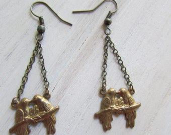 Love Birds earrings
