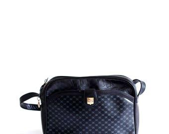 Vintage Celine bag/ leather crossbody bag