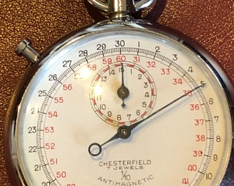 Chesterfield Stop Watch