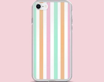 iphone case - Stripe - iphone 7 case - iphone 7 Plus case - iphone 8 case - iphone 8 Plus case -  iphone X - Stripe iphone case