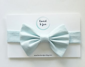 Linen Blend Baby Bow Tie Toddler Bow Tie