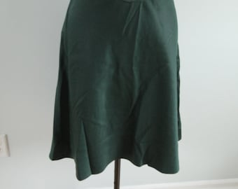 1970's Green Town and Country Skirt