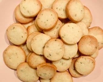 For My Honey (Honey Lavender Shortbread Cookies)