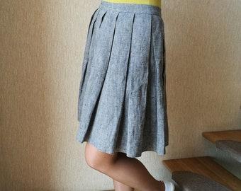 Linen Fashion Skirt