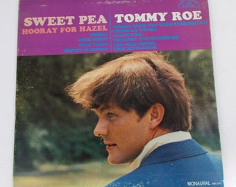 Tommy Roe Sweat Pea Side Vinyl LP Record ABC 575