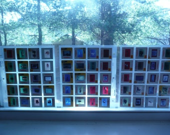 50 Colorful Vintage 35mm Slides from 1960's through 1990's for Crafts, Altered Art, Etc. (14 cents per slide)