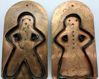 Copper Cookie Cutter Pair Made By Pfaltgraff Village