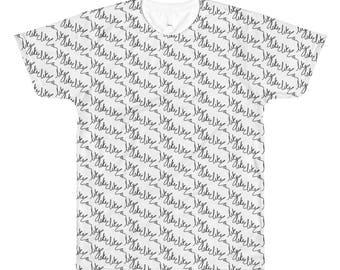 Men's All-Over Printed T-Shirt - Like Like Like