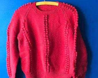 S/XS handmade sweater cropped