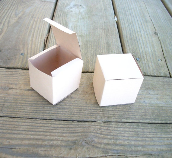 Printable Blank Cube Favor Box Template Small All occasion