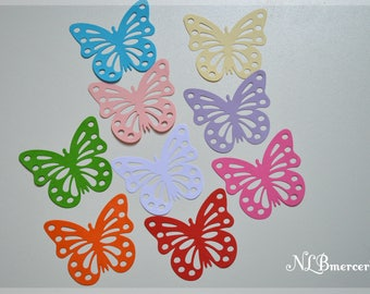 Stickers wall butterflies in 3D - set of 18