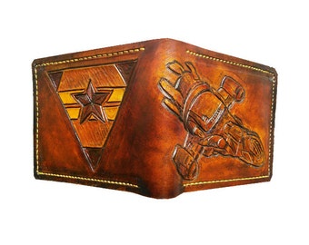 Firefly Alliance - Leather Bifold Wallet - Handcrafted Wallet -