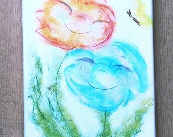 Canvas print: Flowers