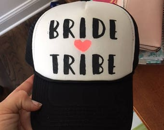 Custom Bridal party Hats