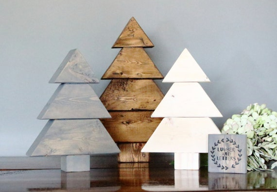 Rustic Trees Wood Christmas Trees Wooden Christmas Tree