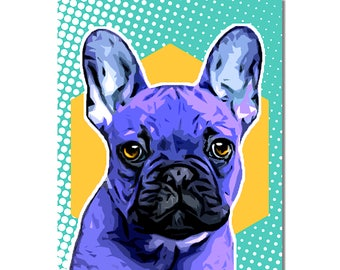 Custom pet cartoon portrait, pet portrait, custom digital pet print, dog portrait, dog print, pet print, custom pet print, pet art, dog art