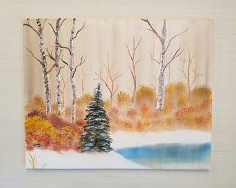 Winter Landscape titled Winter Imaginings
