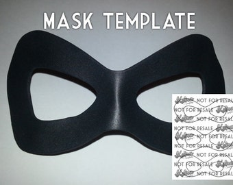 mask template etsy