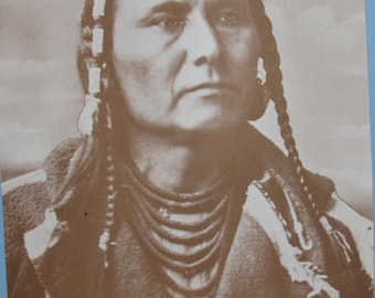 Photographic Print of Chief Joseph, Nez Perce Trbe