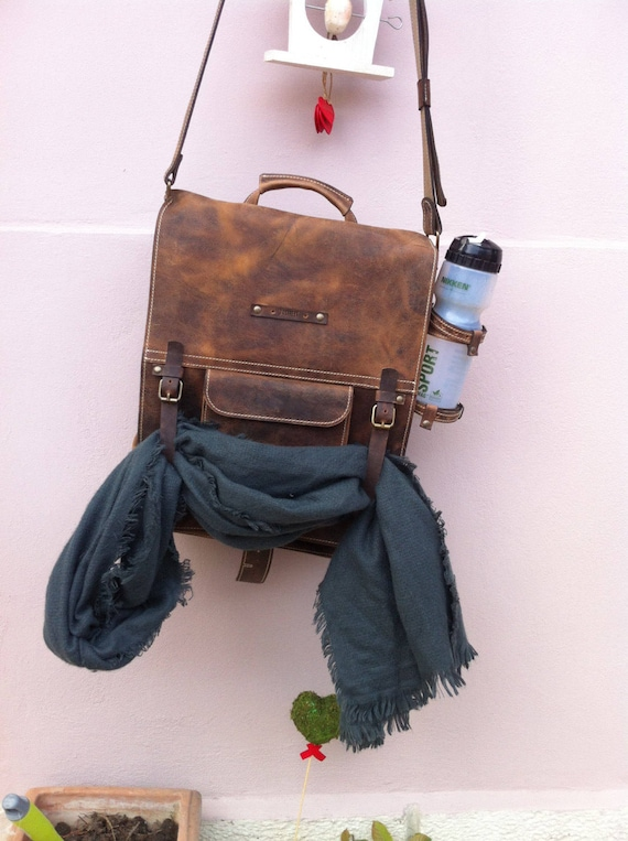 Secret Pocket Bag, Leather Bag, Safety Bag, Leather Laptop Briefcase, Handle bag, Leather Messenger Bag, Office Briefcase,