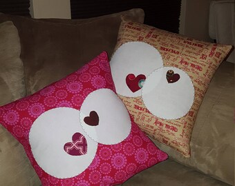 Valentine's Day Pillows (set of 2)