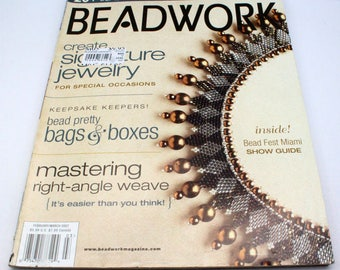 Beadwork magazine - beading, jewelry making, patterns, instructions and inspiration