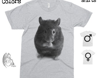 Hamster T-shirt, Tee, American Apparel, Animal, Animals, Furry, Adorable, Pet, Cute Gift