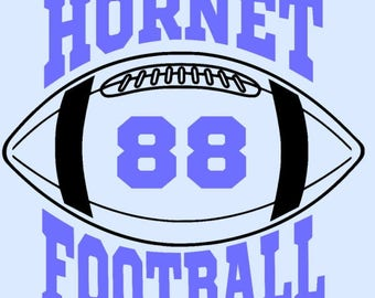 Hornet Football - Add jersey number of your favorite player