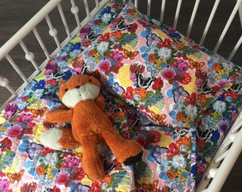 Crib Bedding - Sparkle Bed in Blue
