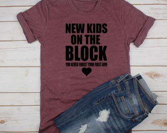 New Kids On The Block Tee // Boy Band Shirt