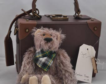 Syrill - Handmade Mohair Artist Bear OOAK