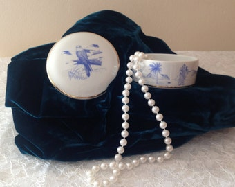 Collectible LIMOGES Trinket Box, gift for mum, gift for girlfriend, gift for wife, porcelain trinket box gift