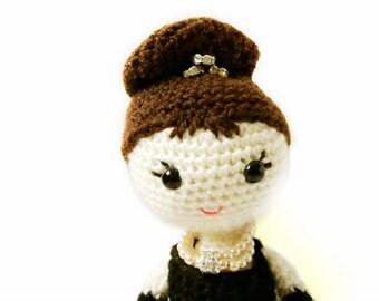 Crochet Doll Pattern - Holly Golightly - Amigurumi