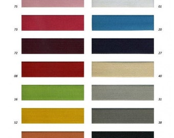 Elastic Ribbon 25 mm 14 colors