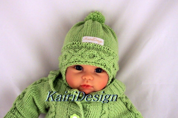 Knitting Patterns Baby Hat Knitting Reborn Earflap Hat