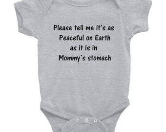 Infant Bodysuit Baby Tee Infant Boys and Girls Clothes