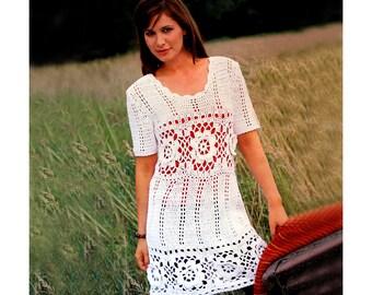 Open back crochet dress pattern crochet tutorial for every crochet dress pattern crochet boho tunic pattern crochet beach dress pattern detailed description dt1010fo